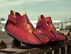 Zapatos de cuero del estilo hecho a mano zapatos de por HerHis