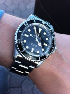 Rolex Submariner 5513 - 1978