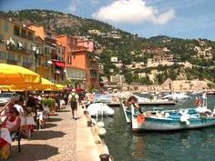Magic old and picturesque Villefranche sur mer Villefranche Sur Mer, French Riviera, Wanderlust Travel, Rental Apartments, Provence, Trip Advisor, To Go, Earth, Sea