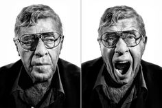 """Jerry Lewis, Actor and Comedian. From """"Why Did Jerry Lewis Leave the Telethon? Jerry Lewis, Richard Belzer, Slapstick Humor, Tony Orlando, Perfect Movie, Still Life Photographers, Men Photography, Best Portraits, Time Magazine"""