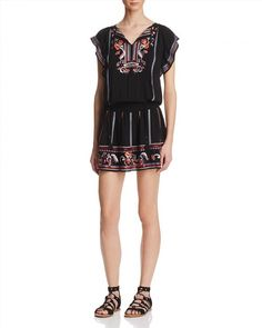 223.50$  Buy now - http://vimlc.justgood.pw/vig/item.php?t=wlbz7114348 - Parker Dean Embroidered Dress