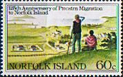 Norfolk Island 1981 Pitcairn Islanders Migration Fine Mint SG 260 Scott 279 Other European and British Commonwealth Stamps HERE!