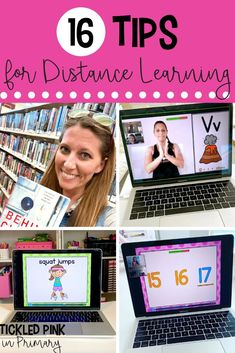 Distance learning can be challenging to virtually all teachers. I'm sharing tips and tricks from the most creative teachers around to help support and prepare you for a great school year! Some of these tips include helpful ways to get organized, how to keep students actively engaged, and maintaining self-care. Distance learning isn't ideal, but through the help of these tips, virtual teachers can have a successful year!
