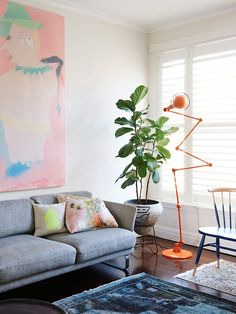 Get the Look: This Artist's Modern Melbourne Home via Brit + Co.