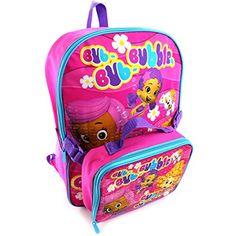 Bubble Guppies Backpack with Lunch Box (Pink Bubble Guppies) Disney Pixar http://www.amazon.com/dp/B00ZXXL670/ref=cm_sw_r_pi_dp_o9JTvb1705B3Y