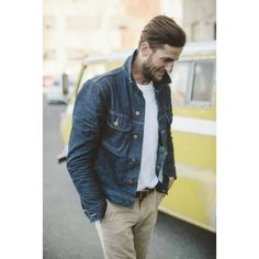 Chinos & Denim Classics never fall out of fashion ever #blackpelicianapparel #fashionblogger #streetstyle #streetwear #mensyle #menswear #chinos #denimjacket