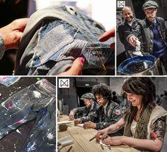 Amsterdam Denim Days 2015; voor consumenten en professionals. #denim #jeans #indigo #indigodye #sashiko #AmsterdamDenimDays