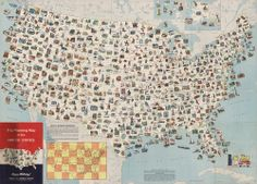 Trip Planning Map Of The United States