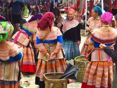 Bac Ha Fair -  Bac Ha Fair, opens on Sunday in Lao Cai, is an ideal market to discover pristine beauty and culture of ethnic groups in the Northwest region.  #BestOfVietnam, #ThingsToDoInLaoCai, #TravelTipInVietnam, #VietnamTravelTips -  #Destination, #DestinationintheNorth, #LaoCai