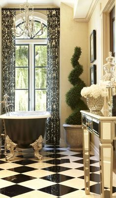 Old World, Mediterranean, Italian, Spanish Tuscan Homes Decor - Luxury Living For You Mediterranean Bathroom, Mediterranean Home Decor, Tuscan Bathroom, Eclectic Bathroom, Mediterranean Recipes, Bathroom Interior, Cheap Bathroom Makeover, Tuscan Home Decorating, Decorating Ideas