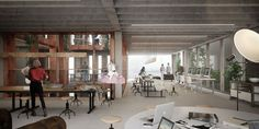 CIVIC architects - Harbourblock Studio - Amsterdam |  ©3D Studio Prins