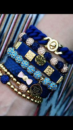 Navy Blue stack