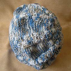 Ravelry: Knitting Pattern-Baby Beret (color mixed) pattern by Julia Noskova