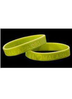 Free Imagine No Malaria Green Bracelet-single