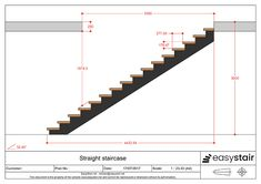 Calculate the dimensions of your quarter-turn staircase Spiral Staircase Dimensions, Stair Dimensions, Home Stairs Design, Home Room Design, House Design, Modular Staircase, Modern Staircase, Stairs In Living Room, House Stairs