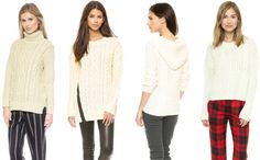 ..Cozy Sweater Four Ways