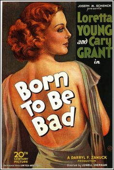Born to Be Bad poster