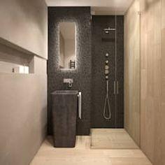 Baños de estilo minimalista por FAMM DESIGN https://www.homify.com.mx/libros_de_ideas/123232/porque-elegir-una-decoracion-minimalista-7-razones-poderosas