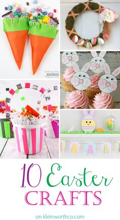 10 Easter Crafts on