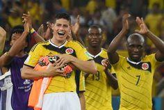 holaesungusto: COLOMBIA 2 URUGUAY 0 EN LOS OCTAVOS DE FINAL DE BRASIL 2014