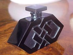 Exceedingly RARE Art Deco R Lalique Mystere Geometric Perfume Bottle by D'Orsay | eBay