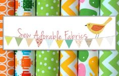 Blog Link Up with Sew Adorable Fabrics - $50 worth of fabric giveaway