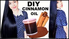 HOMEMADE CINNAMON HAIR OIL FOR FASTER HAIR GROWTH