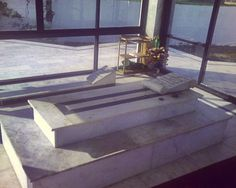 Shaheed's grave beside his mother's inside the tomb