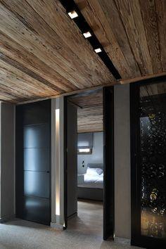 joëlle fichard - bo design / cyanella ski chalet utilizing kreon lighting