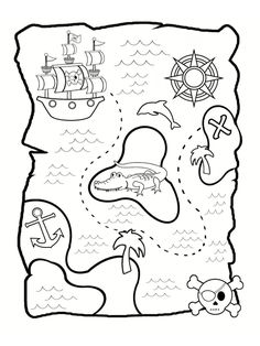 Home Decorating Style 2020 for Fancy Coloriage Carte Au Tresor, you can see Fancy Coloriage Carte Au Tresor and more pictures for Home Interior Designing 2020 13008 at SuperColoriage. Pirate Treasure Maps, Pirate Maps, Pirate Theme, Pirate Party, Pirate Quilt, Decoration Pirate, Harry Potter Background, Free Printable Coloring Pages, Colorful Drawings