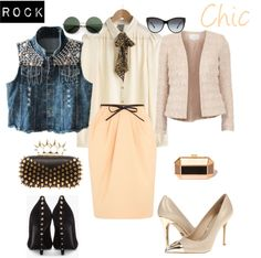 """""""Rock or Chic?"""" by gisdu on Polyvore"""