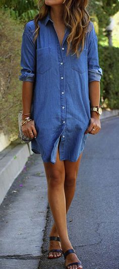 Fashion trends come and go quickly,and each year there is a new set of trends to absorb. Denim Shirt is always at the top of fall fashion's must-have list. Surprises at CUPSHE.COM !