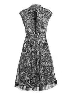 Rockabilly Shirt Dress by McQ Alexander McQueen