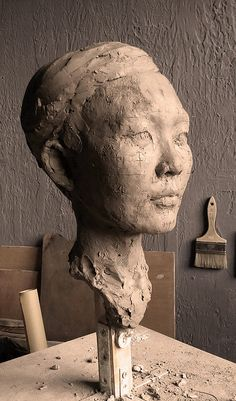 "Stunning sculptures and installations from artist Jessica Wetherly at http://www.jessicawetherly.com/ ""Yuka"", ©Jessica Wetherly"