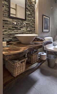 1000+ ideas about Rustic Bathroom Vanities on Pinterest | Rustic ...