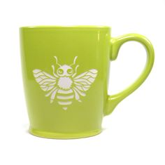 Honey Bee coffee mugs by Bread and Badger®