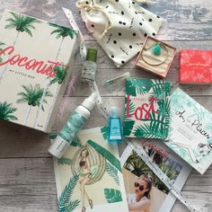 My little box, one of the best subscription boxes around! This is July summer box