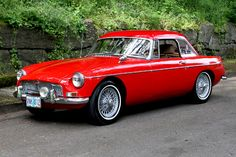 1968? MGB Mk II With removable hardtop .........(my 12th car)