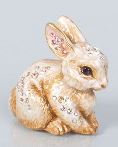Emmy+Bunny+Mini+Figurine+by+Jay+Strongwater+at+Neiman+Marcus.