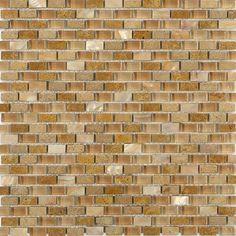 Mohawk Phase Mosaics Stone And Glass Wall Tile Block