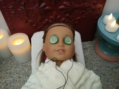 American Girl Doll Crafts and Fun!: How to Make a Doll Spa