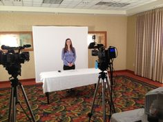 Here is another pic from our recent video shoot for Provant.