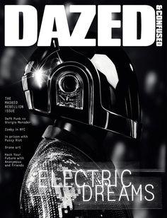 DAZED & CONFUSED JUNE 2013, Daft Punk by Hedi Slimane.