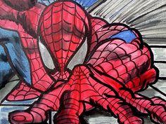 Spiderman Artwork by STARViN-ARTiST/David Green