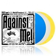 Against Me! - 23 Live Sex Acts (Limited Edition Triple Coloured Vinyl) (Online Exclusive)