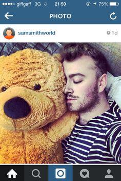 I can't control myself Sam!