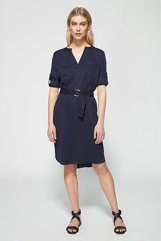 Longsleeve Utility Dress