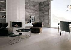 Melt Umber 75x25 cm, decor Melt Form 75x25 cm. Floor Greige 120x60 cm