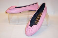 Sam & Libbys--I had these in half-a-dozen colors and still think they are the perfect ballet flat.