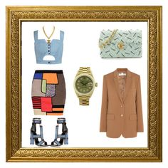 ::Mod/Vintage:: by courtneykimble on Polyvore featuring polyvore, fashion, style, Chicnova Fashion, STELLA McCARTNEY, Moschino, Chanel, Rolex and vintage